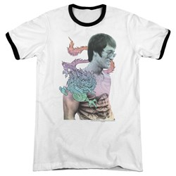 Bruce Lee - Mens A Little Bruce Ringer T-Shirt