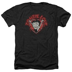 Betty Boop - Mens Heart You Forever Heather T-Shirt