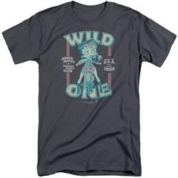 Betty Boop - Mens Wild One Tall T-Shirt