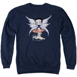 Betty Boop - Mens Mushroom Fairy Sweater