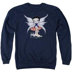Betty Boop - Mens Mushroom Fairy Sweater