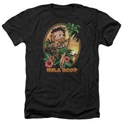Betty Boop - Mens Hula Boop Ii Heather T-Shirt