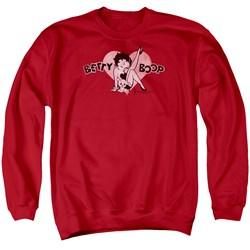 Betty Boop - Mens Vintage Cutie Pup Sweater