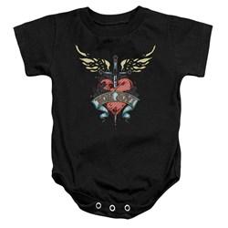 Bon Jovi - Toddler Daggered Onesie