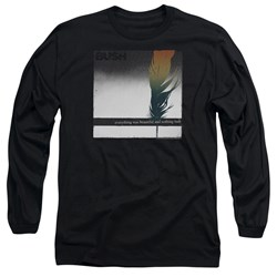 Bush - Mens Feather Long Sleeve T-Shirt