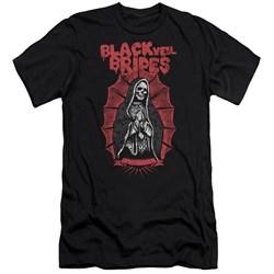 Black Veil Brides - Mens Santa Muerte Premium Slim Fit T-Shirt