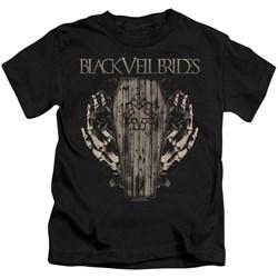 Black Veil Brides - Little Boys Casket Roses T-Shirt