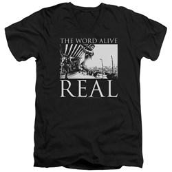 The Word Alive - Mens Live Shot V-Neck T-Shirt
