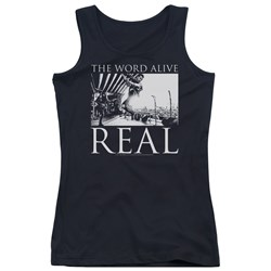 The Word Alive - Juniors Live Shot Tank Top