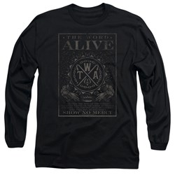 The Word Alive - Mens Show No Mercy Long Sleeve T-Shirt