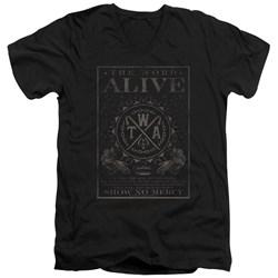 The Word Alive - Mens Show No Mercy V-Neck T-Shirt