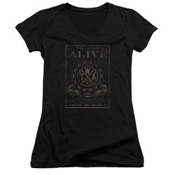 The Word Alive - Juniors Show No Mercy V-Neck T-Shirt