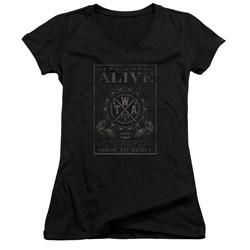 The Word Alive - Juniors Show No Mercy V-Neck T-Shirt