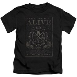 The Word Alive - Little Boys Show No Mercy T-Shirt