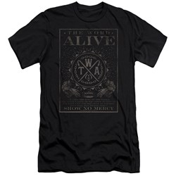 The Word Alive - Mens Show No Mercy Premium Slim Fit T-Shirt