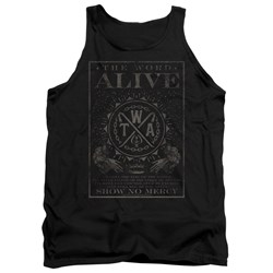 The Word Alive - Mens Show No Mercy Tank Top