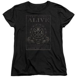 The Word Alive - Womens Show No Mercy T-Shirt