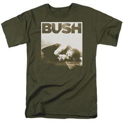 Bush - Mens Floored T-Shirt
