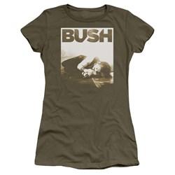 Bush - Juniors Floored Premium Bella T-Shirt