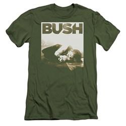 Bush - Mens Floored Premium Slim Fit T-Shirt