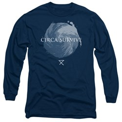 Circa Survive - Mens Storm Long Sleeve T-Shirt