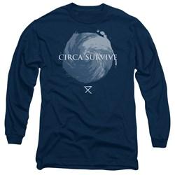 Circa Survive - Mens Storm Long Sleeve T-Shirt