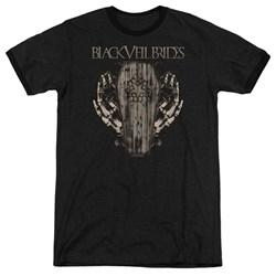 Black Veil Brides - Mens Casket Roses Ringer T-Shirt