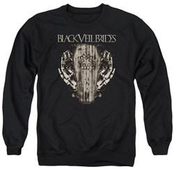 Black Veil Brides - Mens Casket Roses Sweater