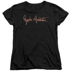 Janes Addiction - Womens Script Logo T-Shirt