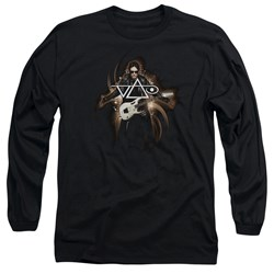 Steve Vai - Mens Vai Guitar Long Sleeve T-Shirt