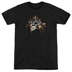 Steve Vai - Mens Vai Guitar Ringer T-Shirt