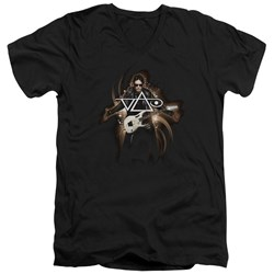 Steve Vai - Mens Vai Guitar V-Neck T-Shirt
