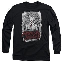 Black Veil Brides - Mens Coffin Queen Long Sleeve T-Shirt