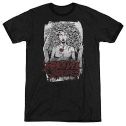 Black Veil Brides - Mens Coffin Queen Ringer T-Shirt