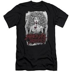 Black Veil Brides - Mens Coffin Queen Premium Slim Fit T-Shirt
