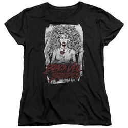 Black Veil Brides - Womens Coffin Queen T-Shirt