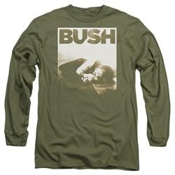 Bush - Mens Floored Long Sleeve T-Shirt