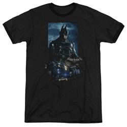 Batman Arkham Knight - Mens Batmobile Ringer T-Shirt