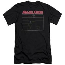 Atari - Mens Major Havoc Screen Premium Slim Fit T-Shirt