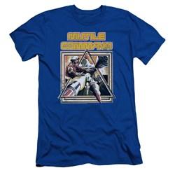 Atari - Mens Missle Commander Slim Fit T-Shirt