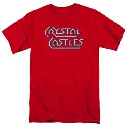 Atari - Mens Crystal Castles Logo T-Shirt