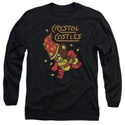 Atari - Mens Crystal Bear Long Sleeve T-Shirt