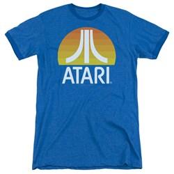 Atari - Mens Sunrise Clean Ringer T-Shirt