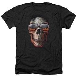 Anne Stokes - Mens Hellfire Heather T-Shirt
