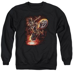 Anne Stokes - Mens Hellrider Sweater