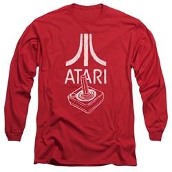 Atari - Mens Joystick Logo Long Sleeve T-Shirt