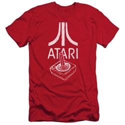 Atari - Mens Joystick Logo Premium Slim Fit T-Shirt