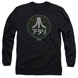 Atari - Mens Japanese Grid Long Sleeve T-Shirt