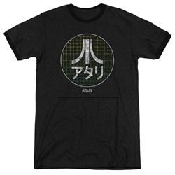 Atari - Mens Japanese Grid Ringer T-Shirt