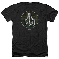 Atari - Mens Japanese Grid Heather T-Shirt